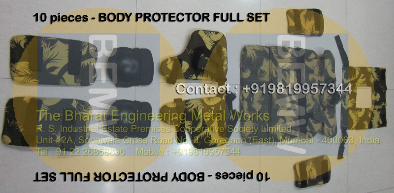 Body Protector-FULL SET-10-pieces
