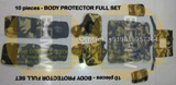 Body Protector Full Set 10 pieces